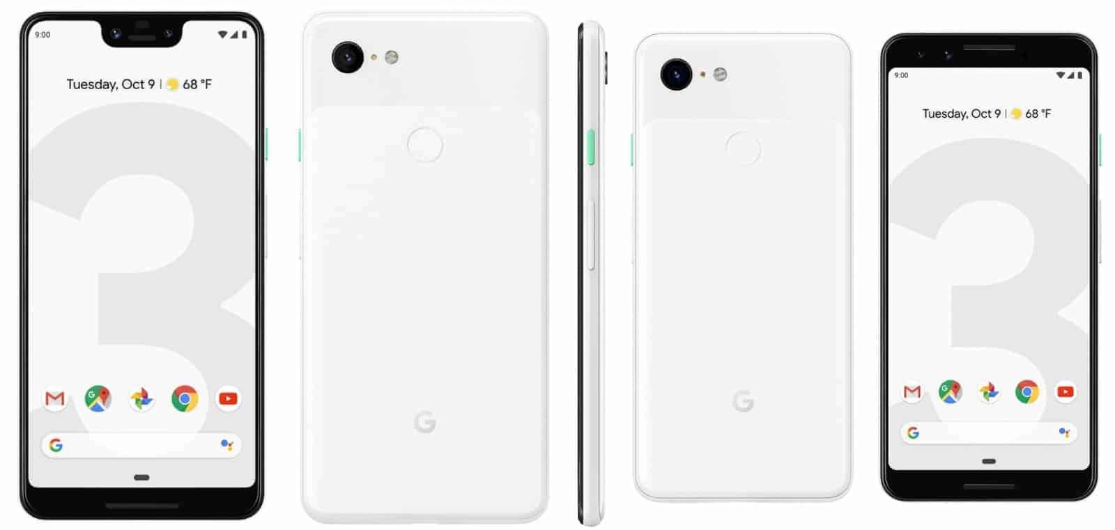 Google Pixel 3 and 3 XL possibly last leak 2