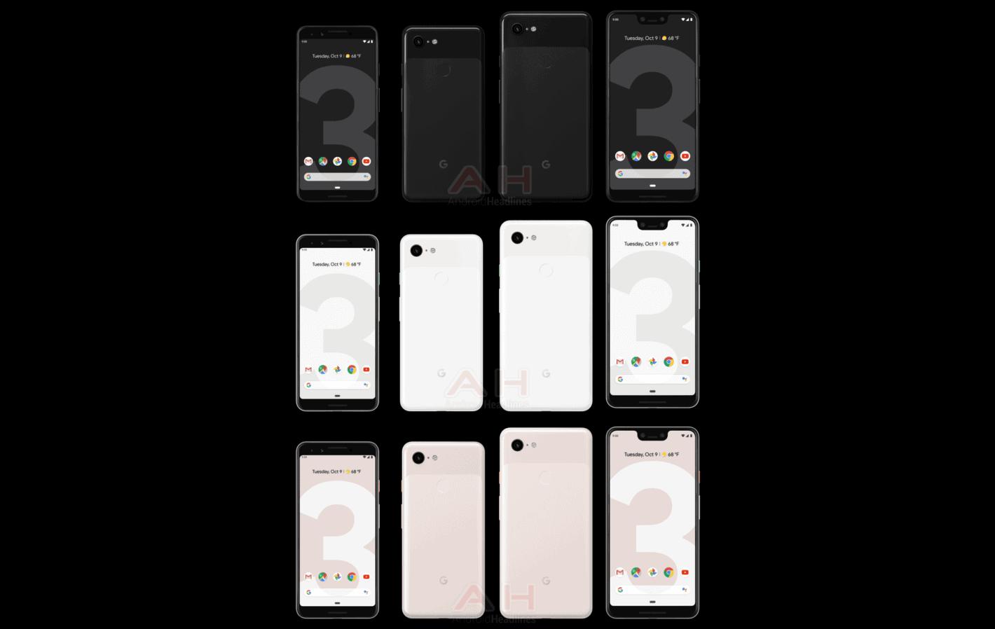 Google Pixel 3 and Google Pixel 3 XL Androidheadlines 2018