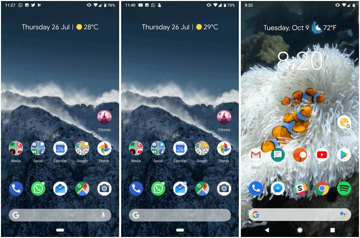 Google Pixel Launcher Pixel 3 AP image 1