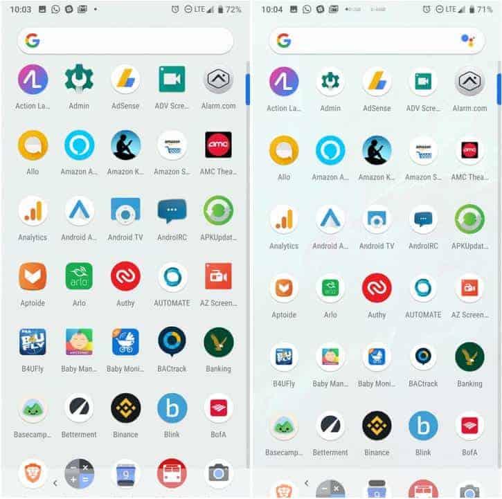 Google Pixel Launcher Pixel 3 AP image 2