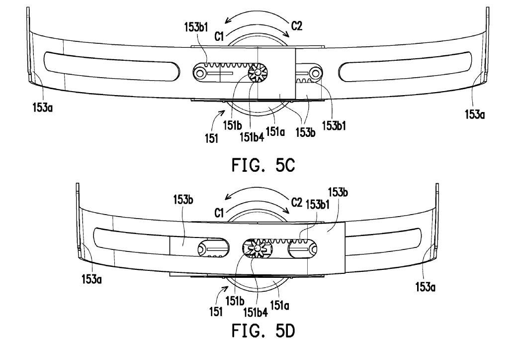 HTC VR Headset patent US20180295733 img 10
