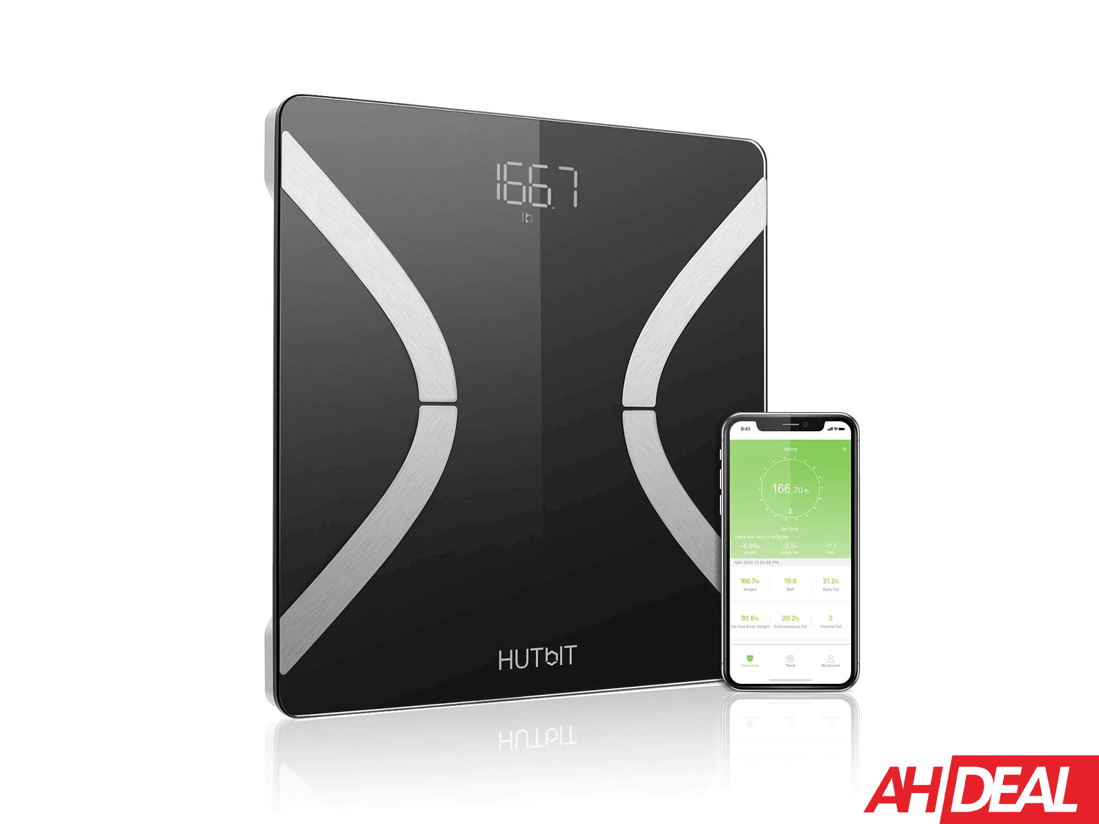 HUTbIT Smart Scale Deal New AH