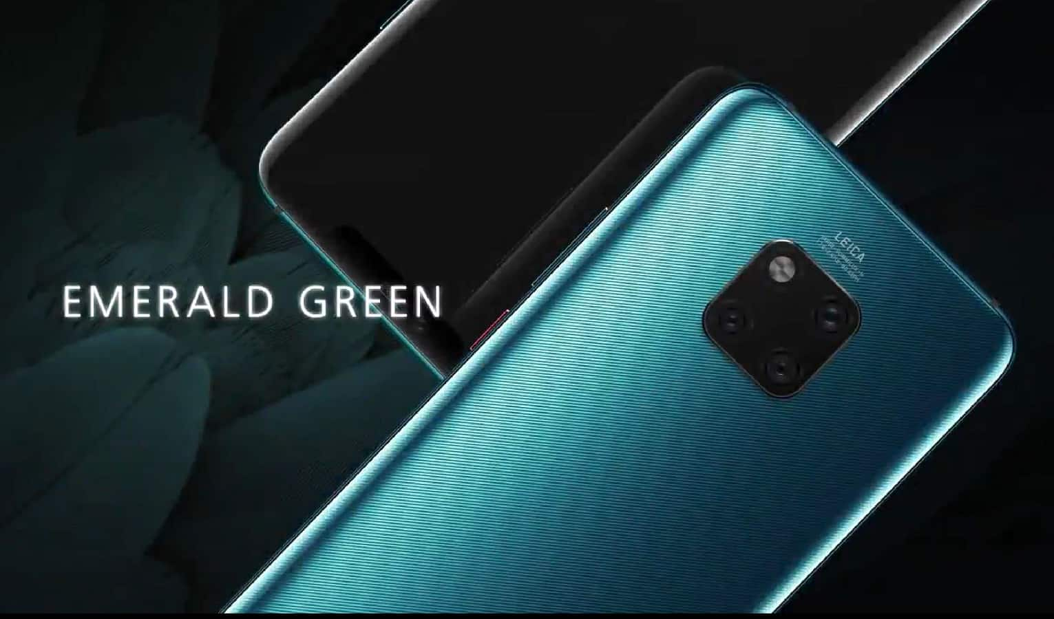 Huawei Mate 20 Emerald Green