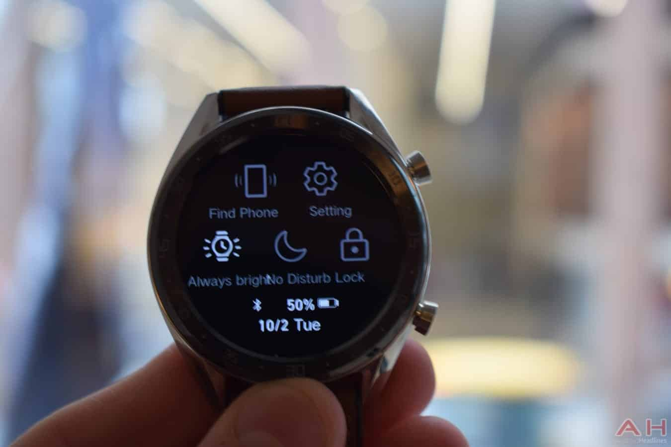 Huawei Android Wear Smartwatch in this Quarter