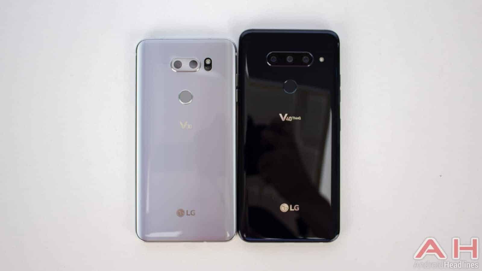 LG V40 ThinQ AH NS V30 Compare 01