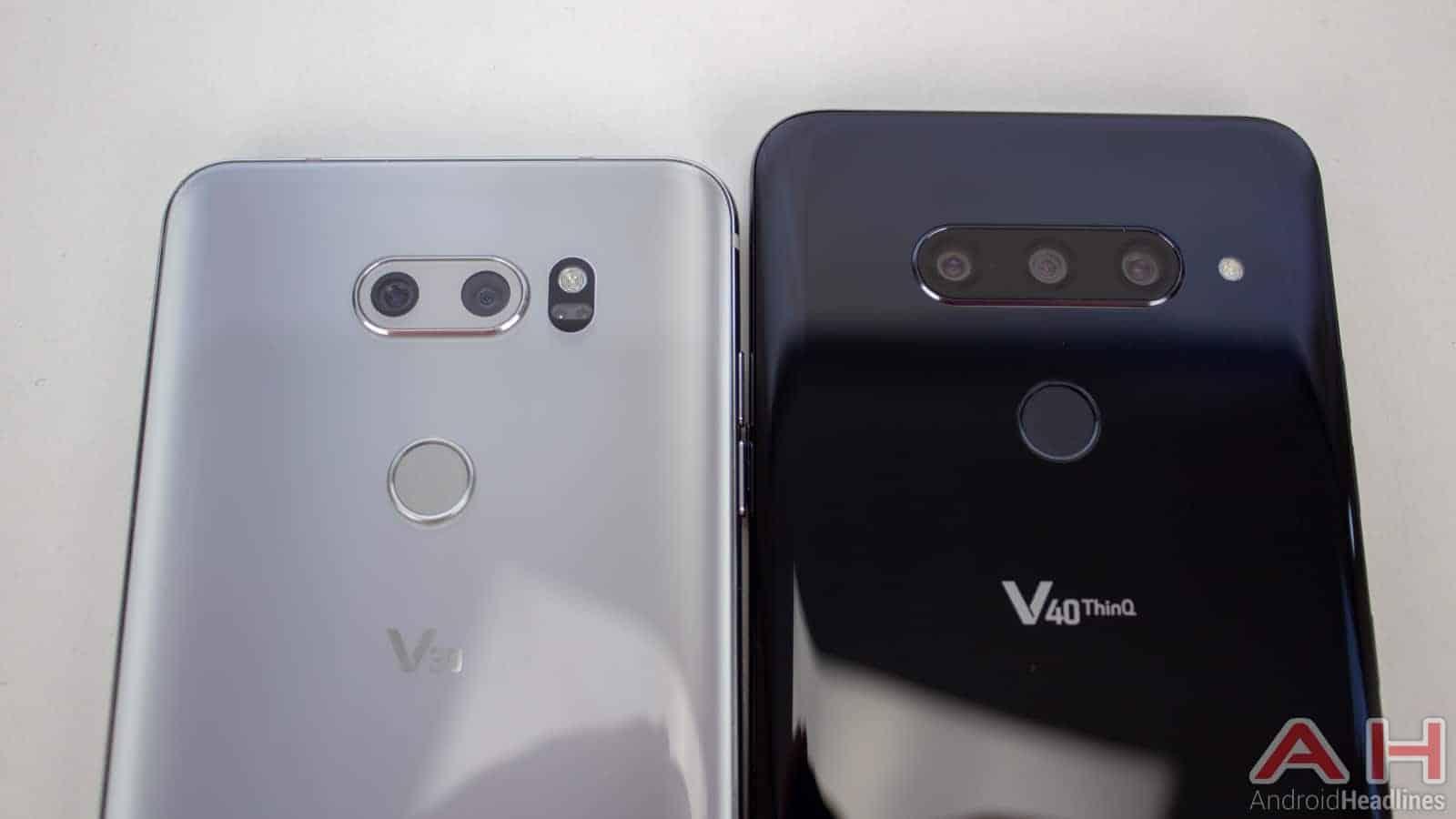 LG V40 ThinQ AH NS V30 Compare 02