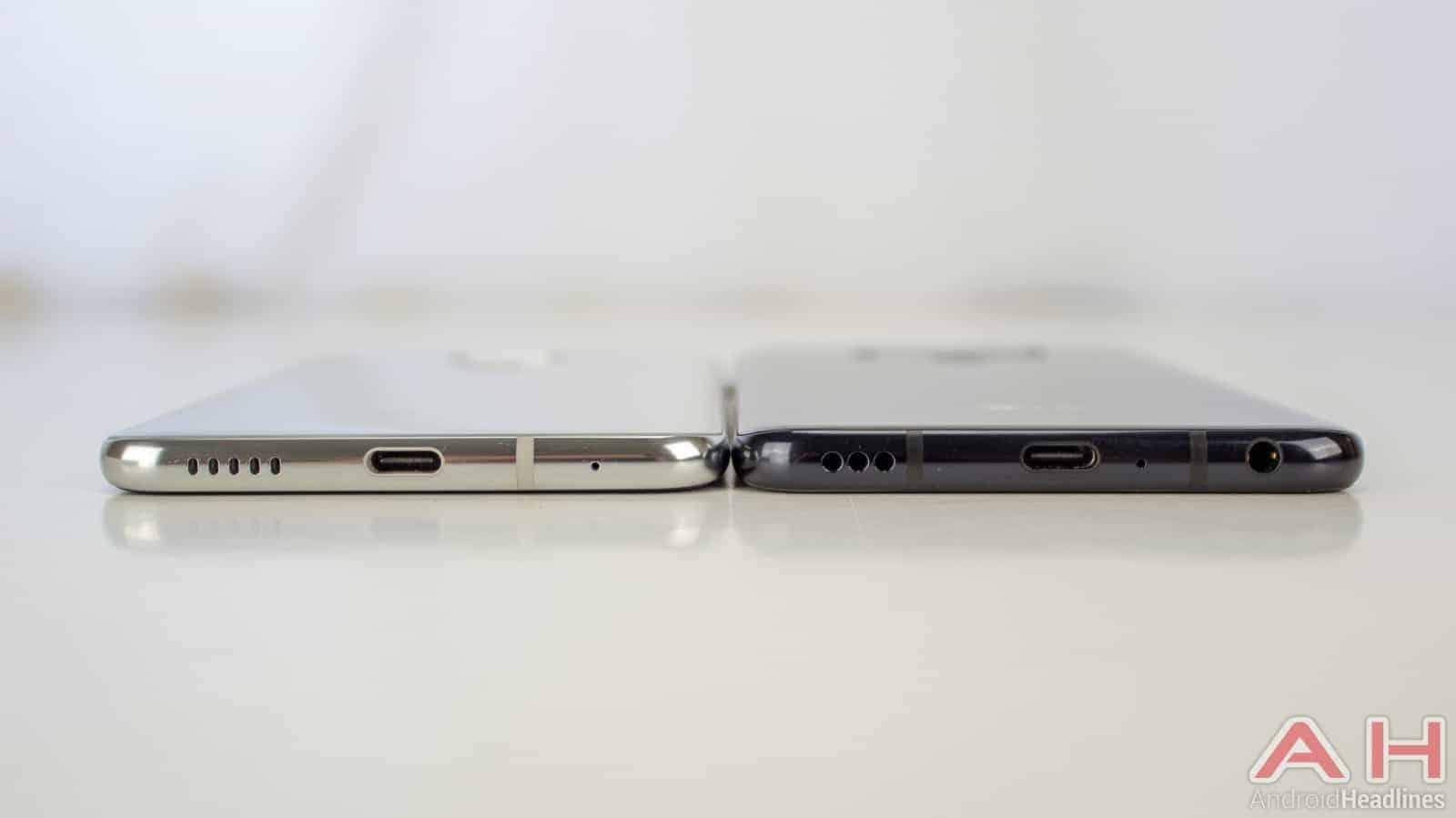 LG V40 ThinQ AH NS V30 Compare 03