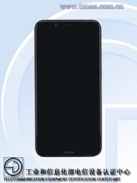 Nokia 7.1 Plus TENAA 1