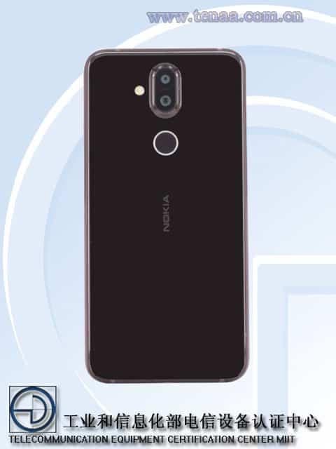 Nokia 7.1 Plus TENAA 2