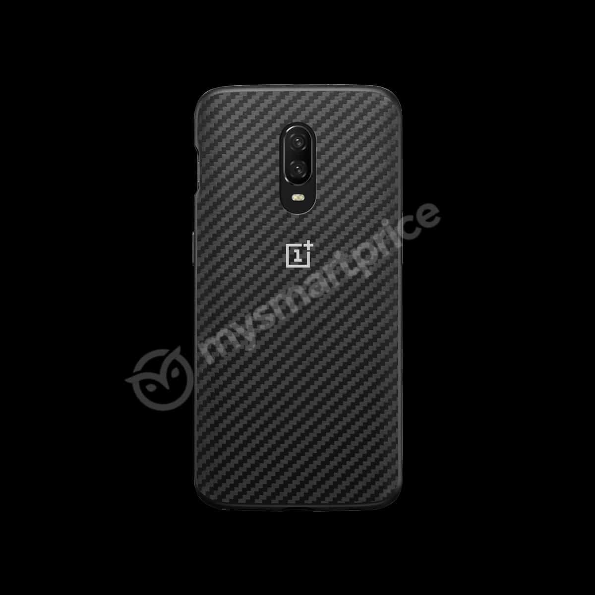 OnePlus 6T Case Karbon leak 1