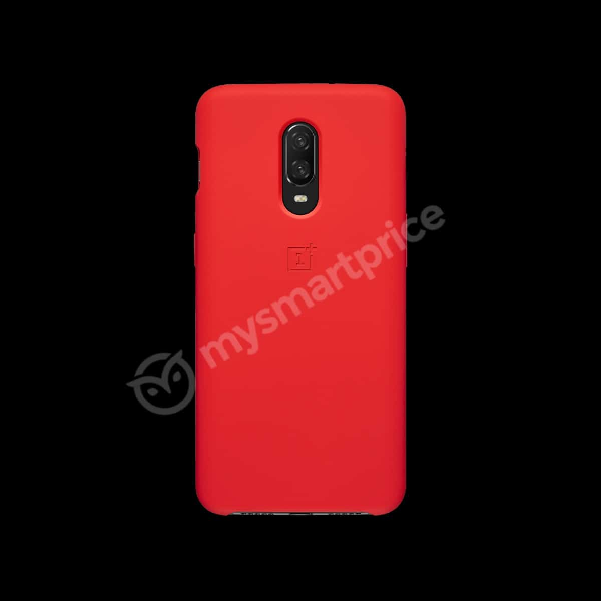 OnePlus 6T Silicone Protective Case Red leak 1