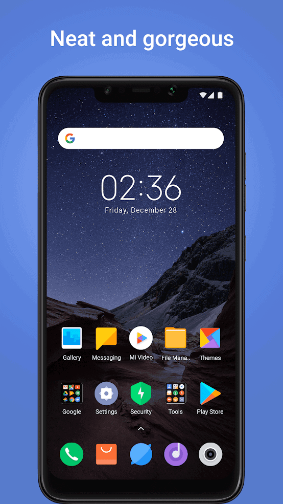 POCO Launcher official image 11