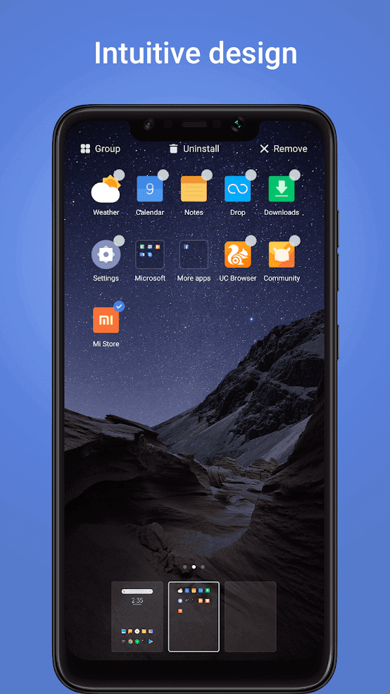POCO Launcher official image 17