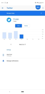 Pixel 3 review screenshots digital wellbeing 02