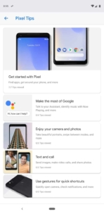 Pixel 3 review screenshots pixel tips