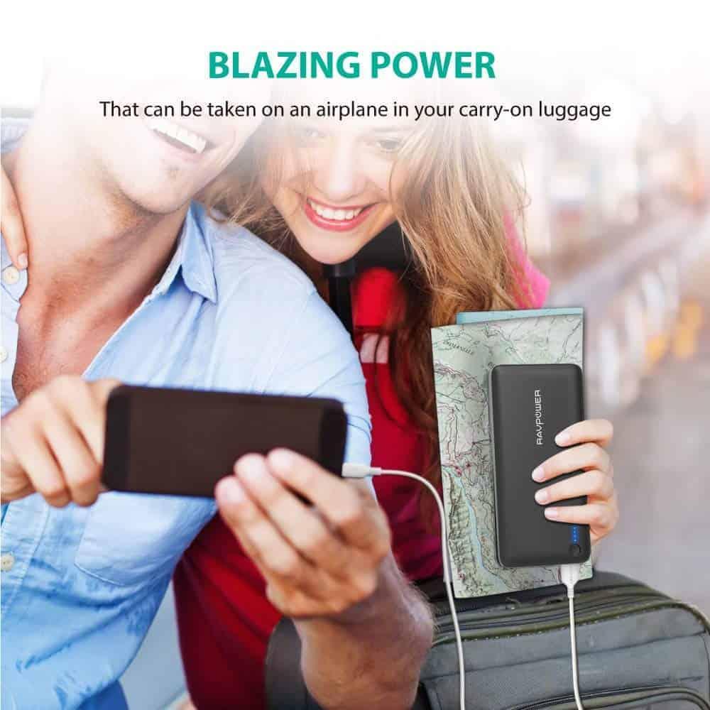 RAVPower 26800mAh power bank 2