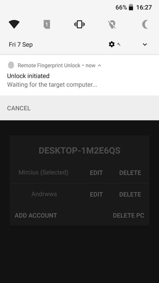 Remote Fingerprint Unlock app image 4