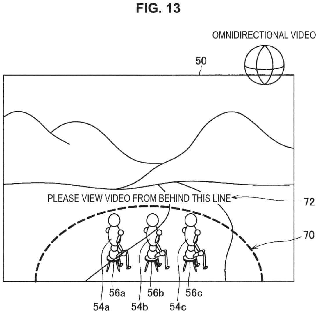 Sony VR Multiplayer Patent EP3383036 img10