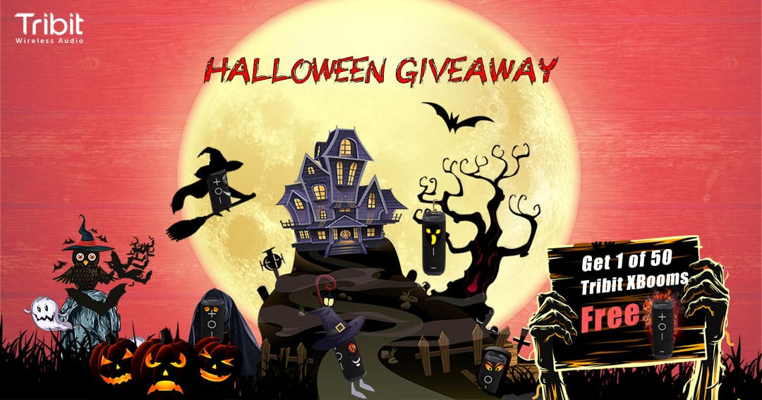 Tribits Halloween giveaway 1