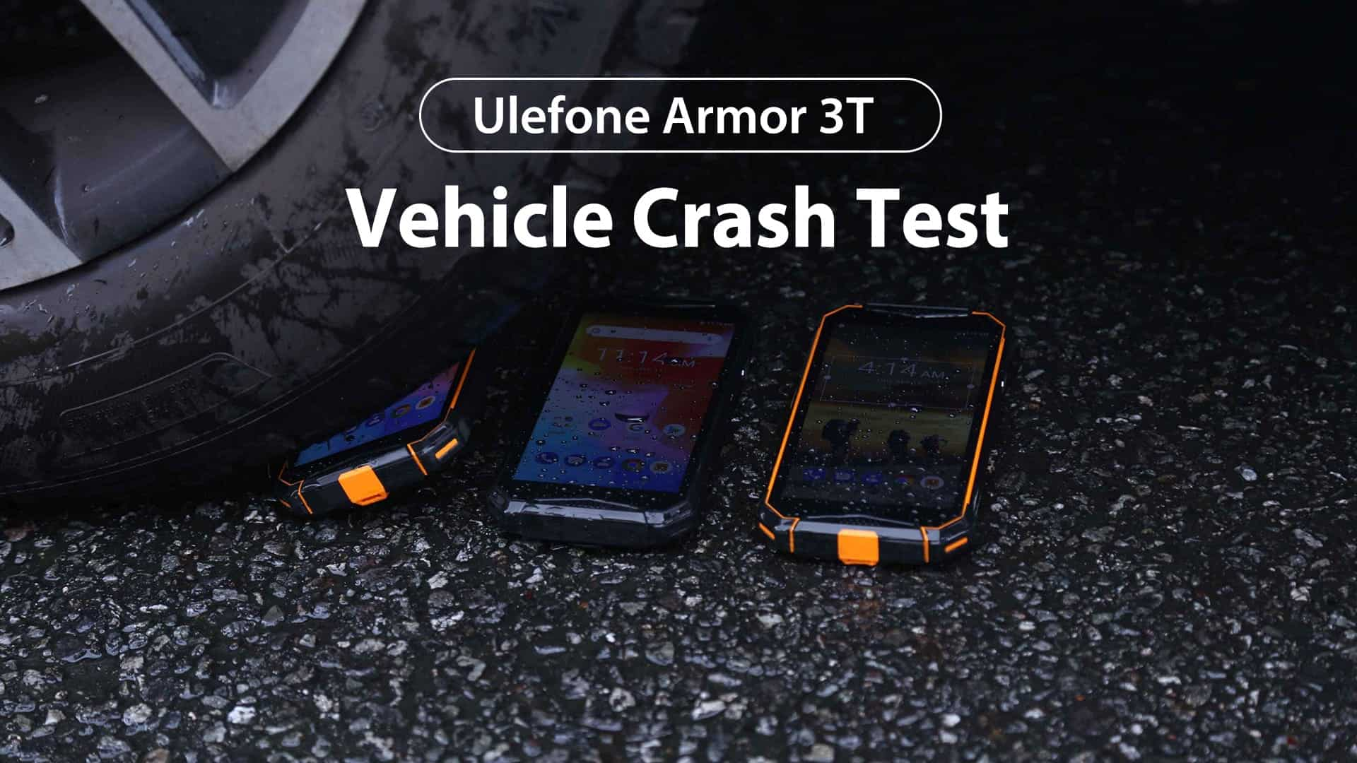 Ulefone Armor 3T car test 1