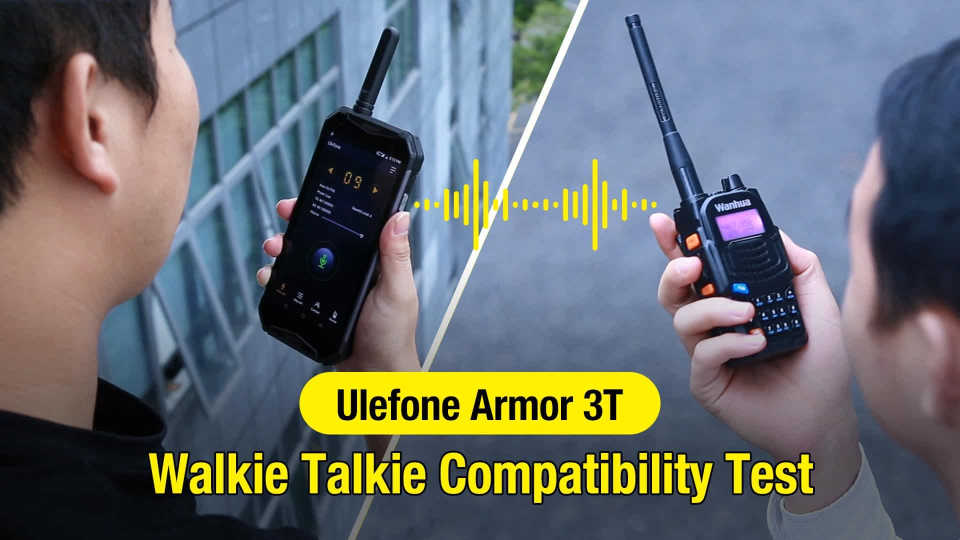 Ulefone Armor 3T walkie talkie test 1