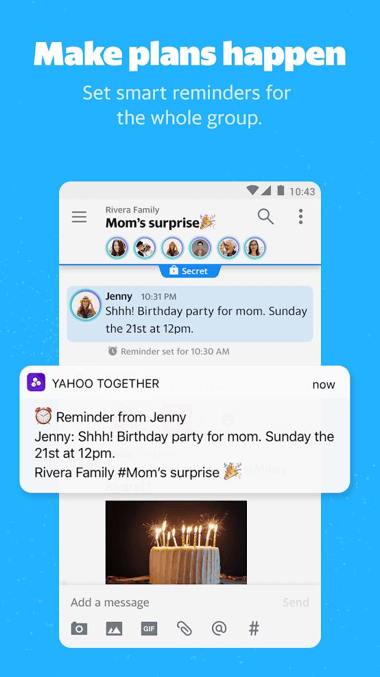Yahoo Together app 3