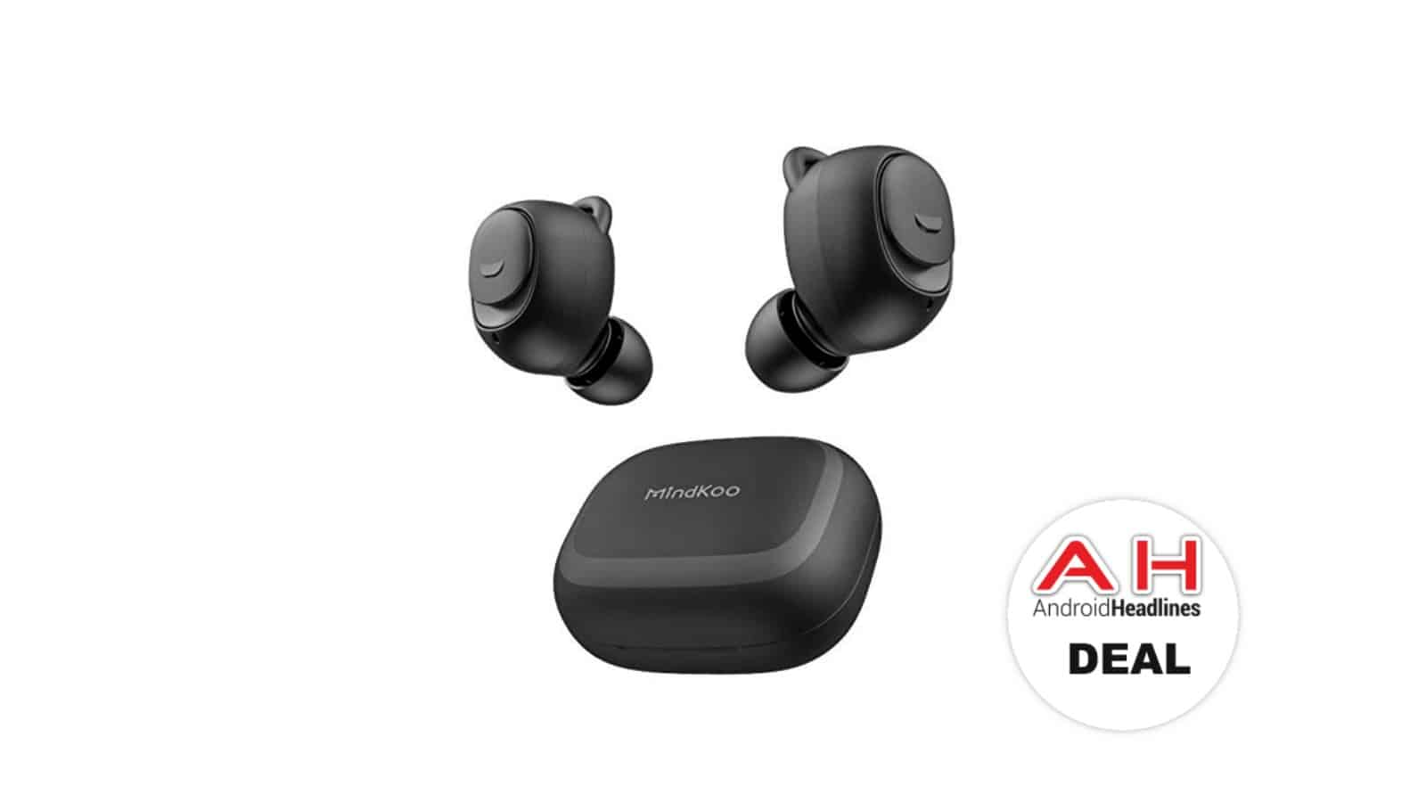 mindkoo truly wireless earbuds deal AH