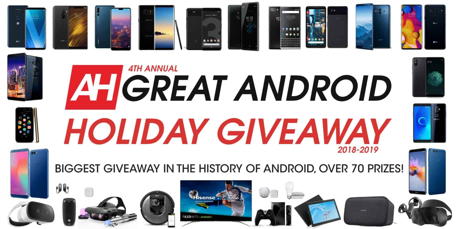ANDROID HEADLINES GREAT ANDROID HOLIDAY GIVEAWAY 2 2018 2019 3