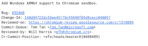Chrome Browser amd64 for Windows Chromium Gerrit Screencap 04