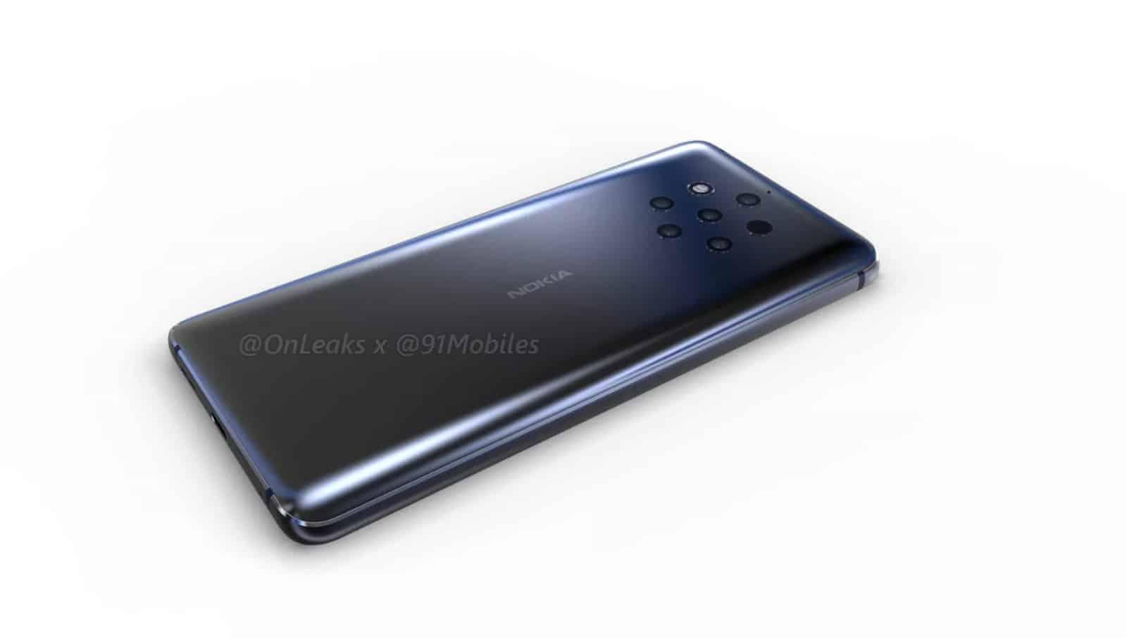 Nokia 9 OnLeaks render 9