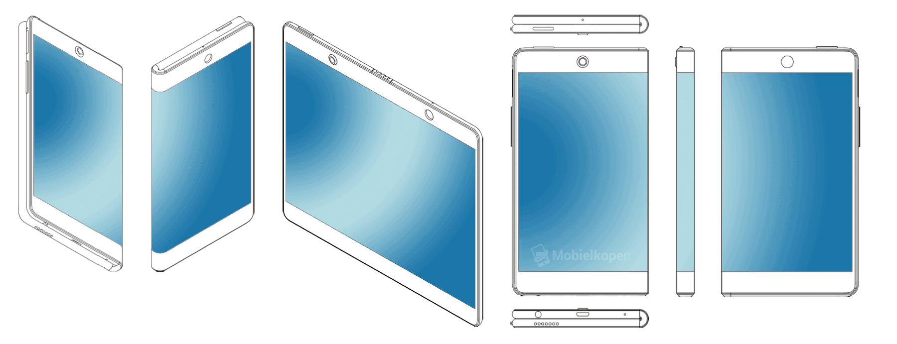 OPPO foldable phone patent 2
