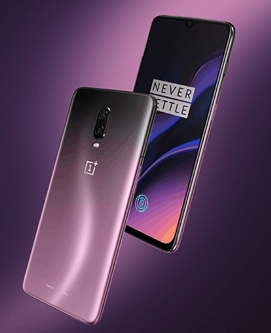 OnePlus 6T Thunder Purple official image 8