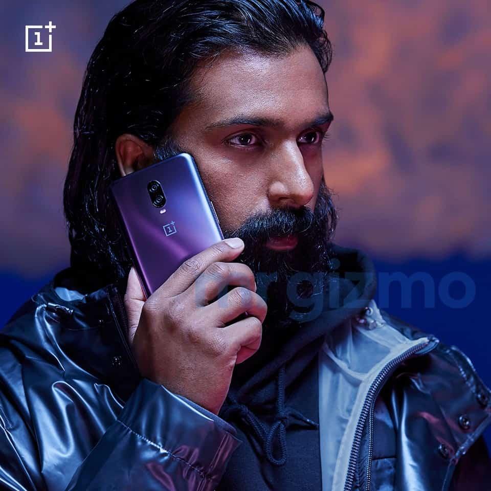 OnePlus 6T Thunder Purple renders leak 2