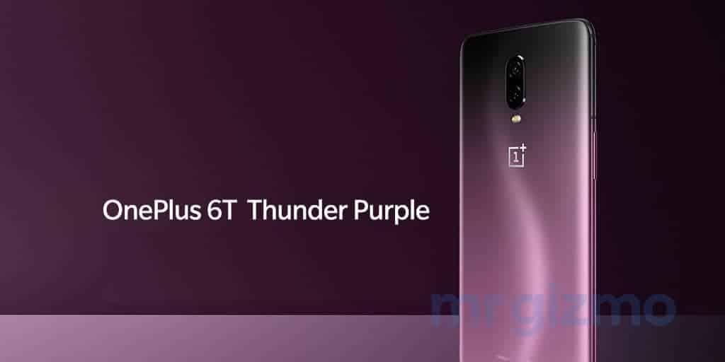 OnePlus 6T Thunder Purple renders leak 4