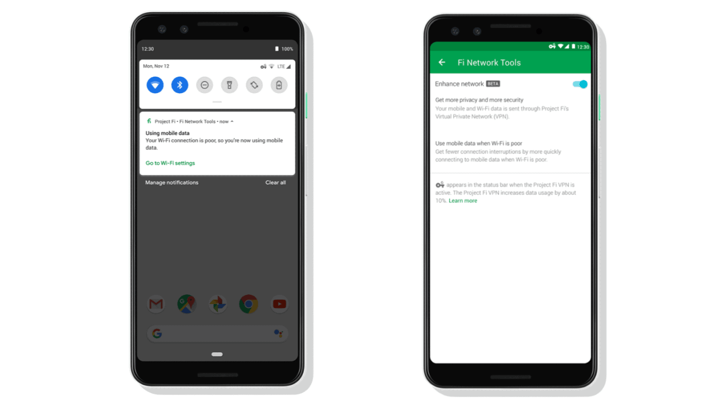 Google Is Bringing Security To Your Connections With Project Fi U0026 39 S Vpn