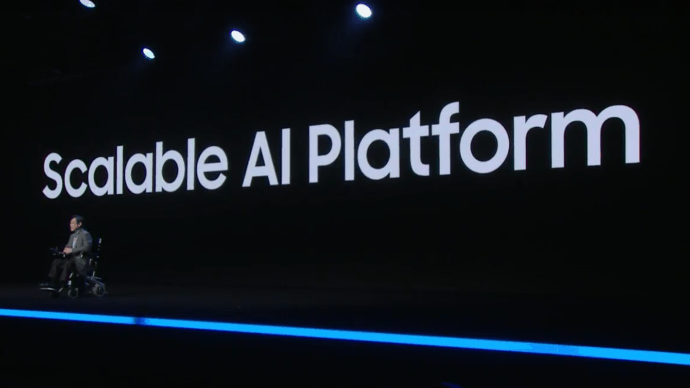 SDC 2018 Keynote AI Ecosystem Screencap