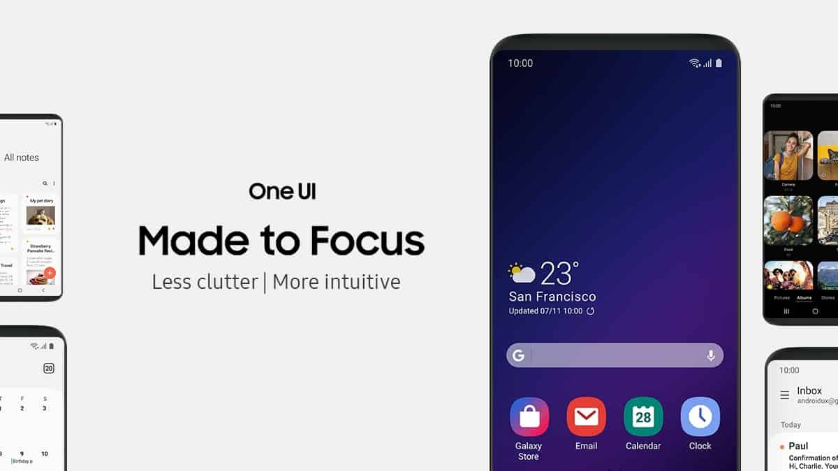 Samsung One UI - What Is Android Cell? Every part You Want To Know