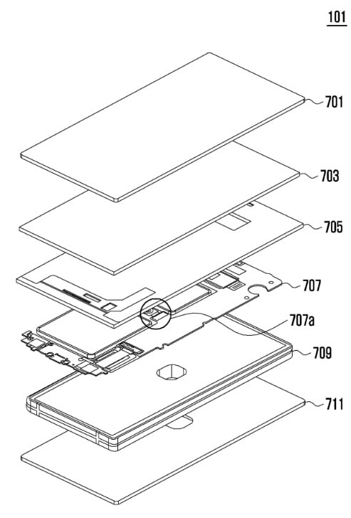Samsung Patent Antenna device and electronic device comprising same 2018 img01