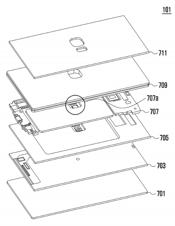 Samsung Patent Antenna device and electronic device comprising same 2018 img02