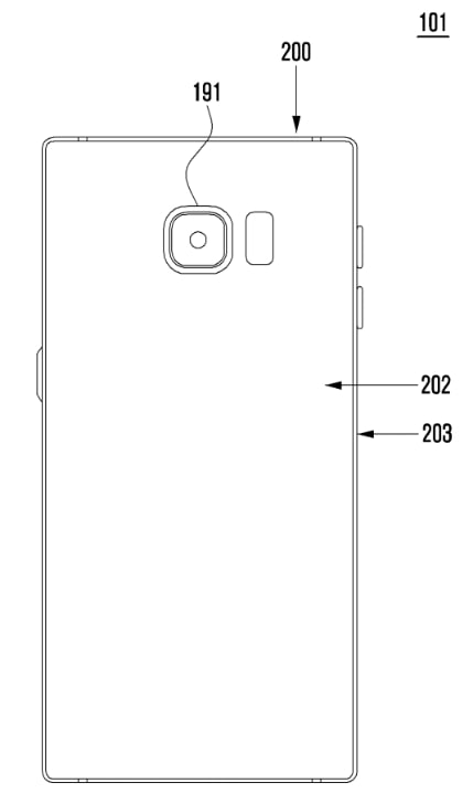 Samsung Patent Antenna device and electronic device comprising same 2018 img05