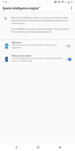 Sony Xperia XZ3 AH NS AI