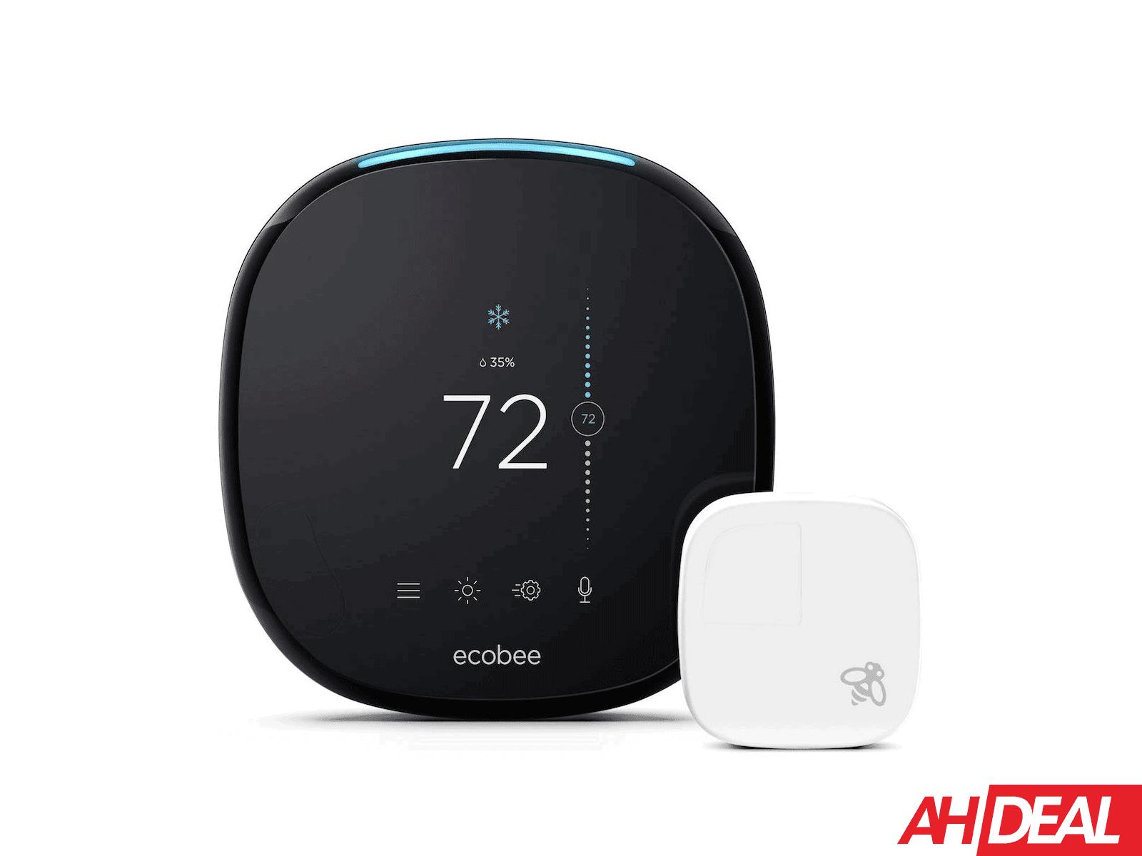 Deal  Ecobee4 Smart Thermostat With Amazon Alexa Built