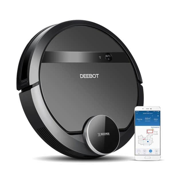 ECOVACS DEEBOT 901 Robotic Vacuum Cleaner with Smart Navi 3.0 - Amazon