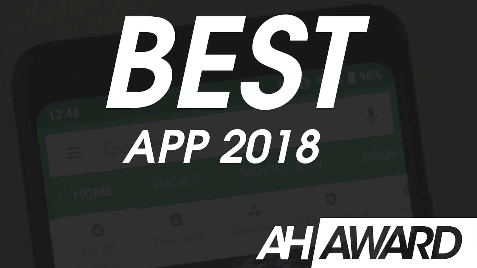 ANDROID HEADLINES AWARDS BEST APP 2018