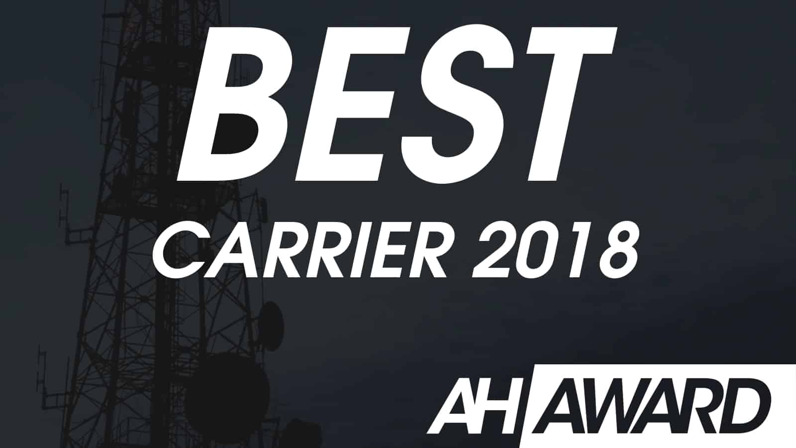 ANDROID HEADLINES BEST CARRIER 2018