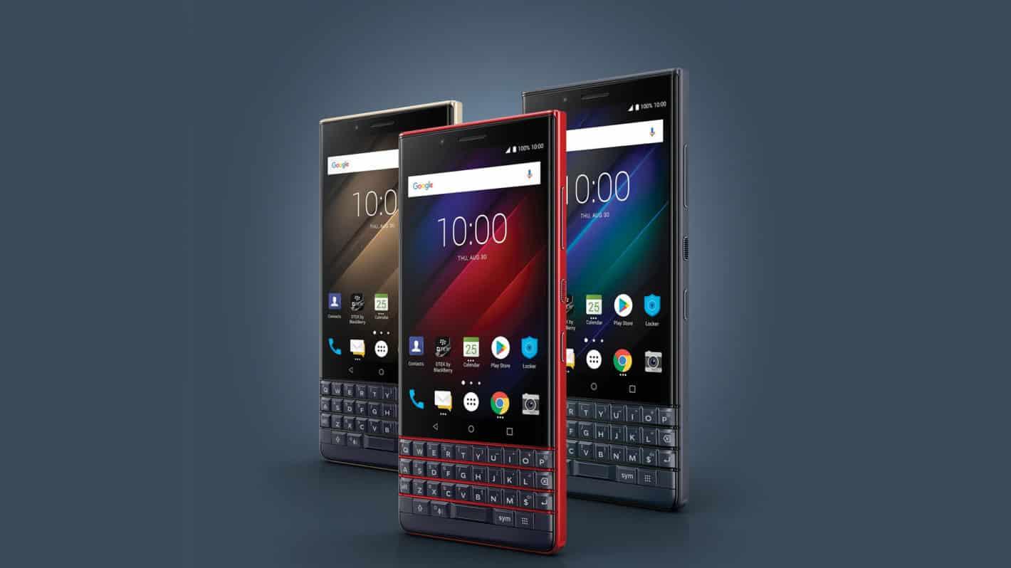 BlackBerry Key2 LE Champagne Atomic