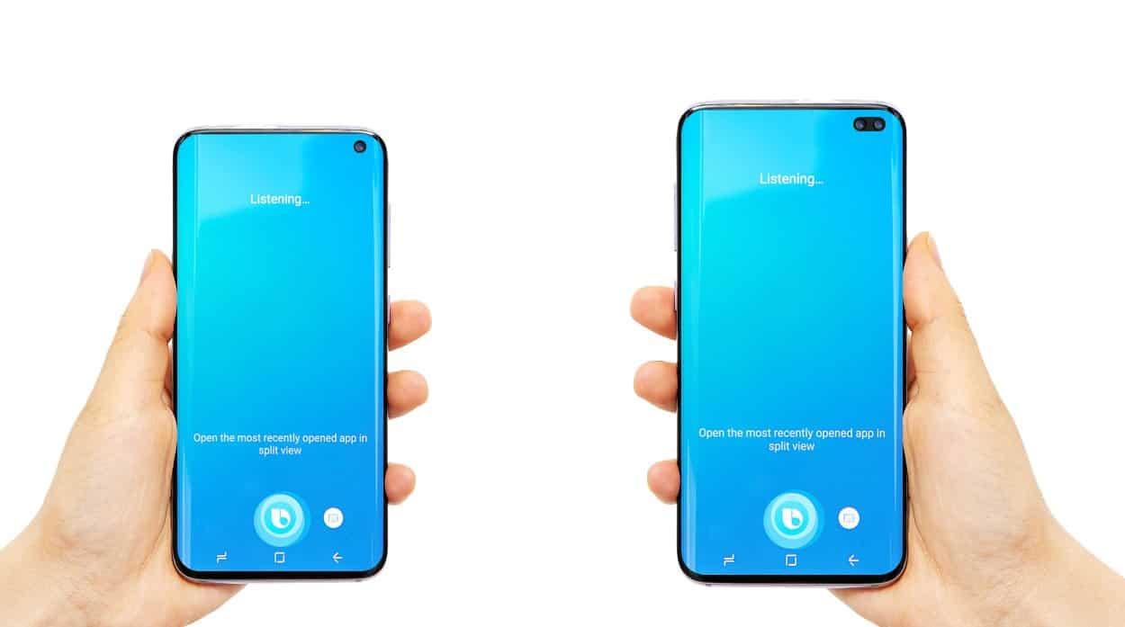 Galaxy S10 and S10 design leak 1