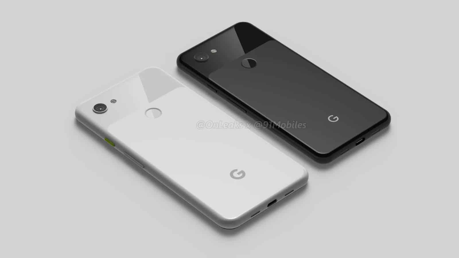 Google Pixel 3 Lite Pixel 3 Lite XL renders leak 3