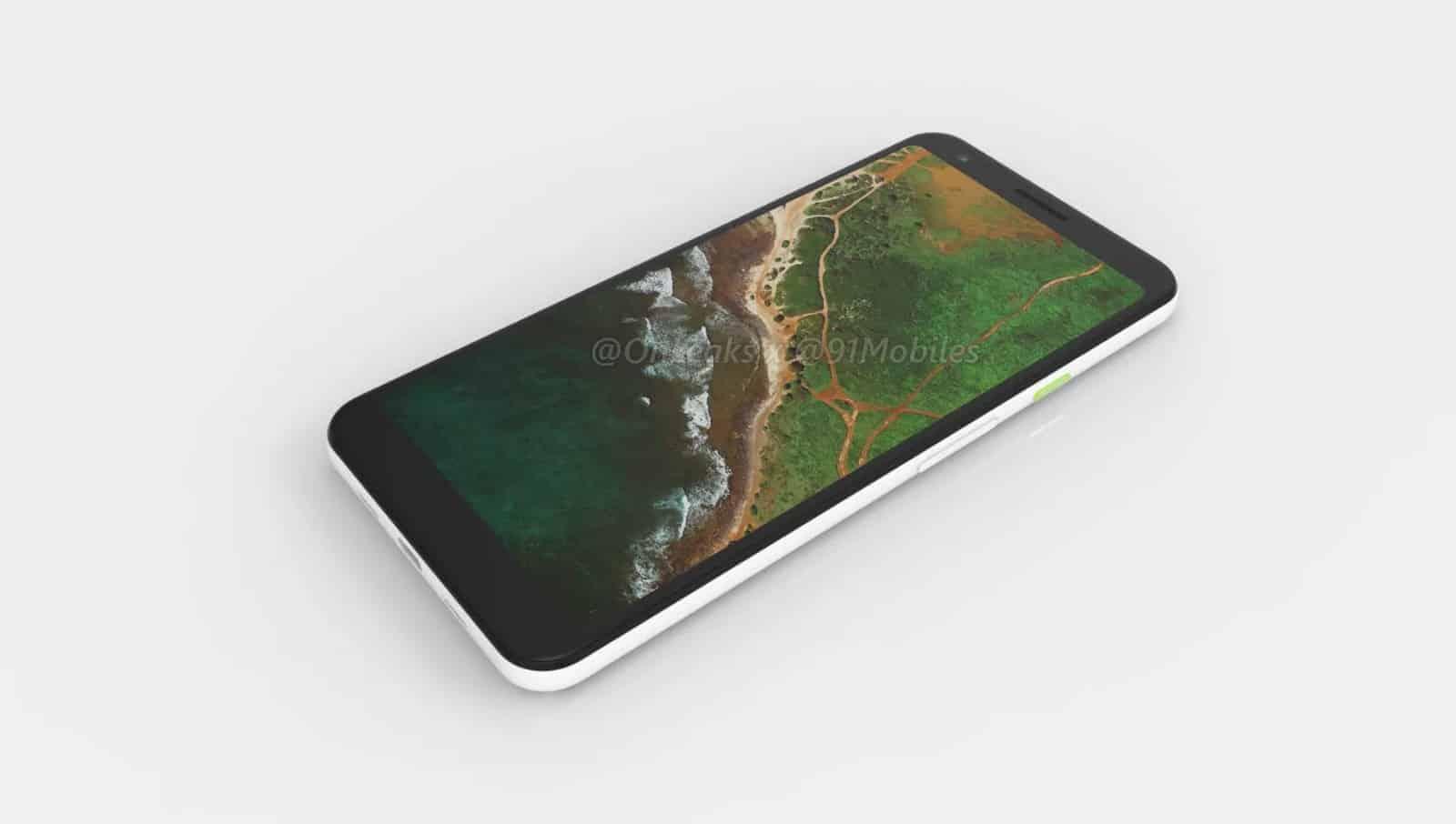 Google Pixel 3 Lite XL render leak 3