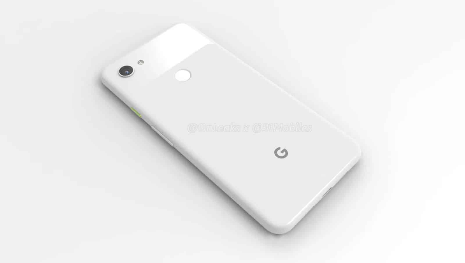 Google Pixel 3 Lite XL render leak 7